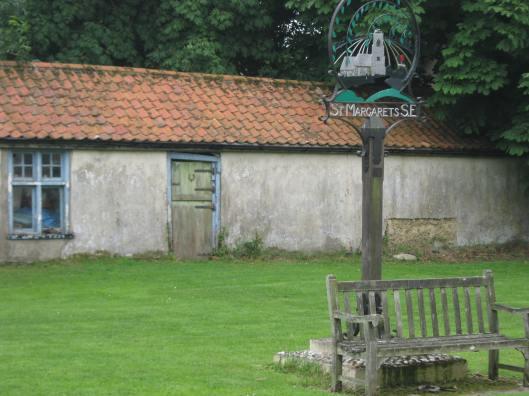 031St Margaret's village sign