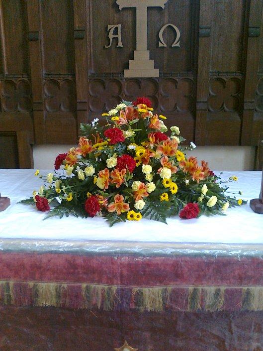 039Altar flowers