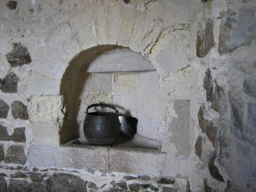 034Stone sink with drainage hole kitchen