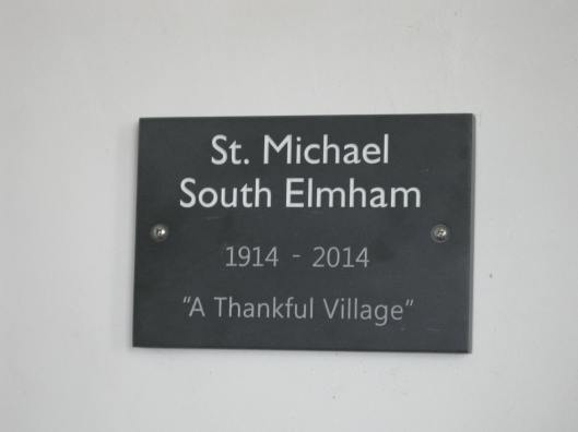 001St Michael's slate plaque