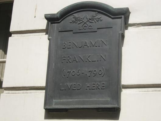 009Benjamin Franklin plaque