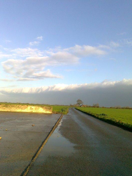 013Receding bank of cloud
