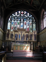 East Window - Ancestry of Christ by E Burne-Jones