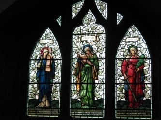 Deborah, Huldar and Judith by Morris and Co