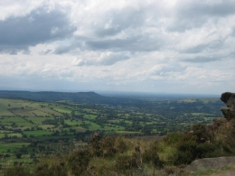 A view of another escarpment in the distance