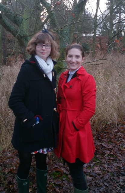 DSC_0683Elinor and Alice at Walberswick woods