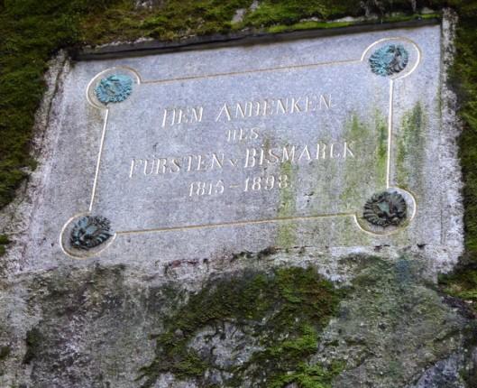 P1000758Bismark plaque
