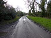 Our muddy lane